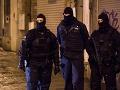 Protiteroristický zásah v Bruseli