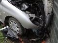 Hromadná nehoda v Bratislave: Hasiči zasahujú pri havárii piatich áut