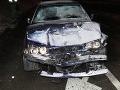 FOTO Vodič (33) na BMW spôsobil v Žiline dopravnú nehodu: Nafúkal 3,83 promile!