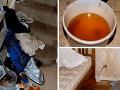 FOTO otrasných záberov z rodiny alkoholikov: Deti žili v špine, smrade a medzi výkalmi!