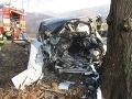 Ranná nehoda v Bánovciach n. Bebravou: Zranilo sa päť osôb