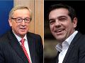 Alexis Tsipras (vpravo) telefonoval