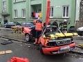 FOTO Tragická nehoda v Ružomberku: Po náraze do stĺpa zomrel vodič Daniel (†26)!