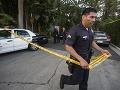 Polícia zabezpečuje miesto činu