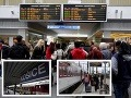 Chaotické sťahovanie národov, márne posilnenie spojov: Vlaky zadarmo plné, lístky vypredané!