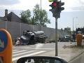 FOTO Tragická nehoda v Žiline: Ford sa zrazil s fekálnym vozidlom, jeden mŕtvy (†62)
