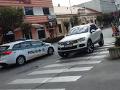 VIDEO Vodič v Topoľčanoch zaparkoval na priechode: Policajti nakukli a...