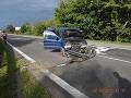Nehoda pri Košiciach: Opitý vodič (29) havaroval, spolujazdec ťažko zranený