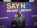Nigel Farage, líder britskej