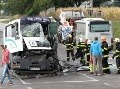 FOTO Nehoda autobusu s malými futbalistami: Zahynul Ľubomír (†60), 3 deti v nemocnici