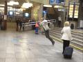 Exot na hlavnej vlakovej