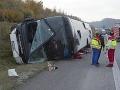 Trpeli najmä deti: Pri nehode autobusov v Česku i Nemecku sa ich zranilo 77