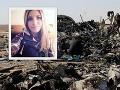 Pád ruského lietadla: Bomba