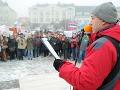 FOTO Demonštrácie v Leviciach: Nespokojní učitelia v pondelok vytvoria živú reťaz!