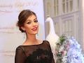 Moderátorka Fashion Tv Jasmína Alagičová na Bratislavskom Bále nechýbala.