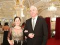 Na Bratislavskom Bále nechýbal ani spevák Marián Greksa s manželkou Alenou.