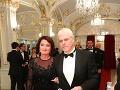 V spoločnosti sa po rokoch objavil aj bývalý markizácky moderátor Karol Farkašovský s manželkou Ľudmilou.