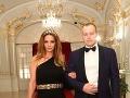 Na Bratislavskom Bále nechýbali ani boháč Boris Kollár s partnerkou Andreou Heringhovou.
