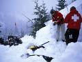 Dramatická záchranná akcia v Tatrách: Počas zostupu horolezcov spadla lavína!