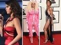Spučené prsia, blonďavá pohroma v ružovom a nahota: Červený koberec z Grammy!
