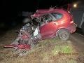Tragická nehoda pri Žiline: Pri zrážke auta s autobusom zomrel vodič (†40)