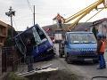 FOTO Hrôzostrašnej nehody pri Košiciach: Zrážka autobusu plného študentov