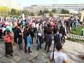 Protest mal pripomenúť vláde a ministerstvu, že otázky ohľadom školstva tu stále sú a treba sa k nim postaviť.