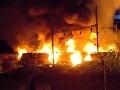 VIDEO Obrovského požiaru v