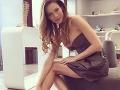 Modelka Andrea Verešová odhalila