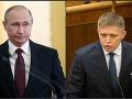 Vladimir Putin a Robert