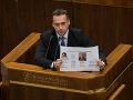 Opozícia chystá trestné oznámenie: Zadržiavanie Špirkových materiálov marí vyšetrovanie