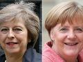 Merkelová zablahoželala Mayovej