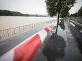 Hladina Dunaja sa zvýšila