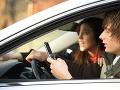 SMS-kovanie za volantom je