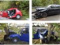 Odstrašujúce FOTO pre všetkých vodičov: Polícia zverejnila najhoršie jesenné nehody na Slovensku
