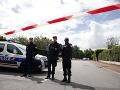 Dráma pri zatýkaní extrémistu: Prestrelka, zranení dvaja francúzski policajti