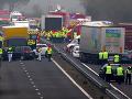 VIDEO Hromadná nehoda vo Francúzsku: Po tragickej zrážke 30 áut piati mŕtvi