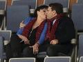 Dáda Patrasová sa na verejnosti takto bozkávala so svojím mladším milencom Vitom.