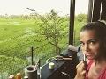 Dara Rolins strávi na Bali celý mesiac.