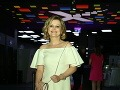 Evita Urbaníková počas večera pútala pozornosť bezchybnou postavou.