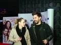 Na premiére bol aj spevák Adam Ďurica s priateľkou Kikou.