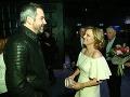 Evita Urbaníková si počas večera poklebetila aj s poľským hercom Pawlom Delagom.