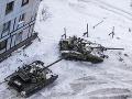 Boje na Donbase pokračujú.