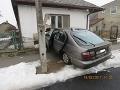 Nešťastná nehoda v Borši: Ignácovi (†67) prišlo zle, FOTO silný náraz do domu