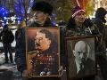 Oslavy výročia boľševickej revolúcie.