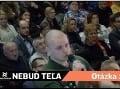 Kotlebovci narušili diskusiu v R. Sobote: VIDEO Mužov v zelenom rozbesnila otázka o peniazoch