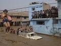 Záplavy v Peru si