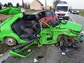 Hrôzostrašná nehoda pri Trnave: