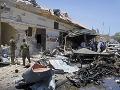 Zničujúci výbuch na sýrskom