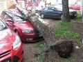 Slovensko bičoval silný vietor: FOTO Škody, ktoré napáchal v Trnavskom kraji